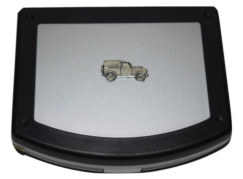 Mini Tool Box Set with Pewter Emblem 20 piece Compact Tool Box WorkshopGlovebox Mens Gift Idea Vehicle farming Transport