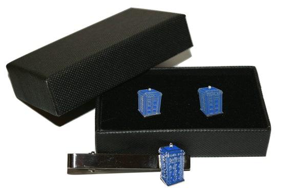 Campervan Enamelled Cufflink Set Boxed