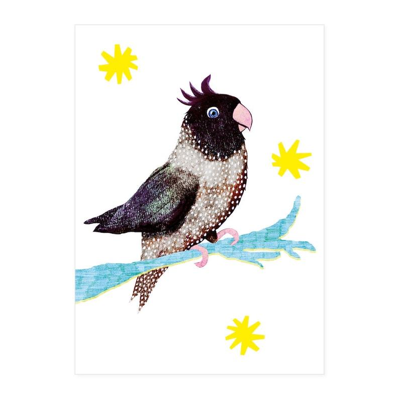 Birdie postcard image 0