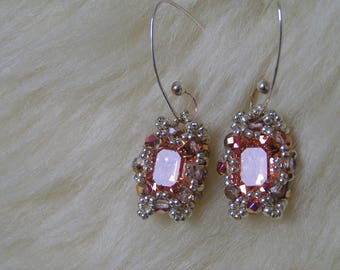 """Pattern/Tutorial in English for the earrings"""" Denia"""""""