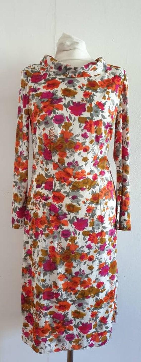 Vintage 70s / Vintage 60s /  Vintage Dress  / Hand
