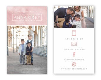 Business Card Template - Photography Business card template - Business Cards