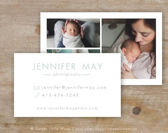 Business Card Template - layered business card
