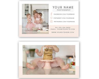 Business Card Template, Photography Business card template, Photographer Business Card Design