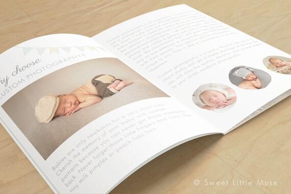 Awesome Newborn Magazine Template Ornament - Resume Template ...