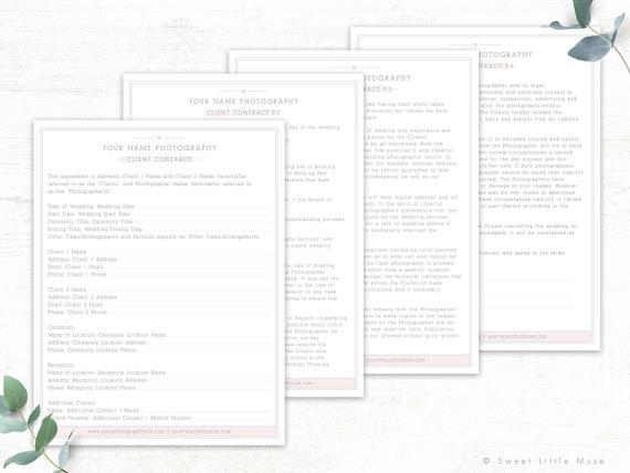 Wedding Photography Contract.Wedding Photography Contract Template Session Contract Template Photography Contract For Photographers