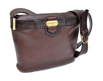 Pierre Balmain Brown Leather Purse - Cross-body Bag