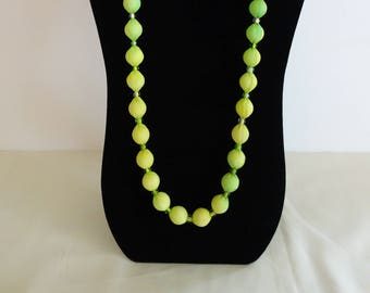 Pure Silk Hand Painted Necklace