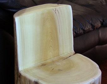 Cedar Stump Chair