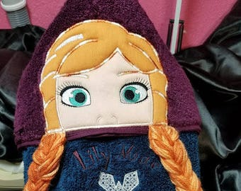 Towel Peeker, Princess Anna.