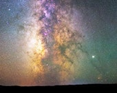 4x6 Astrophotography magnet - Milky Way's colorful core