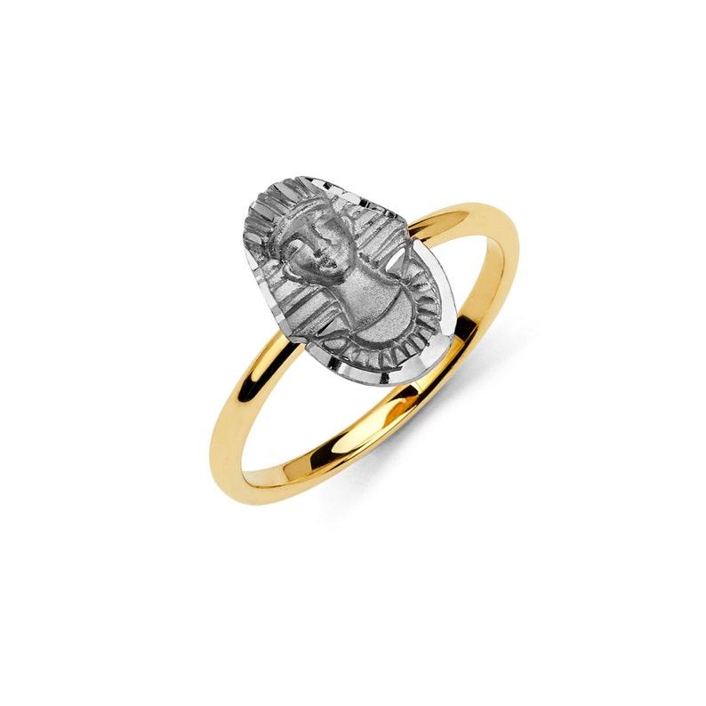 purchase cheap bbf9f a46a8 14k bicolore Faraone anello, anello di Faraone, faraone gioielli, anello in  oro, faraone oro, bicolore anello, gioielli egiziani, anello egiziano, ...