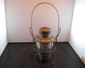 Antique Lehigh Valley Railroad Lantern