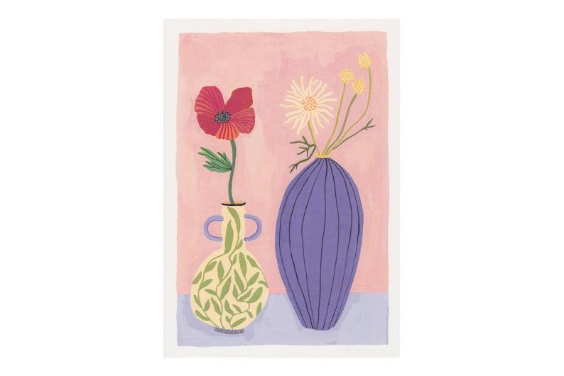 A4 Poppy & Daisy image 0
