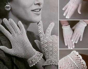 Crochet Gloves Etsy