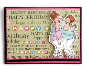 Are We Celebrating 29again Older Ladies Friends Happy