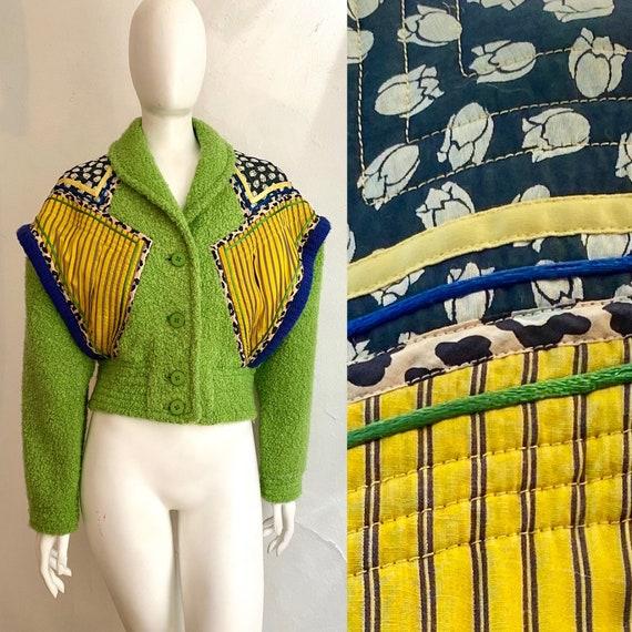 Early 1980s KOOS van den Akker Neon New Wave Wool