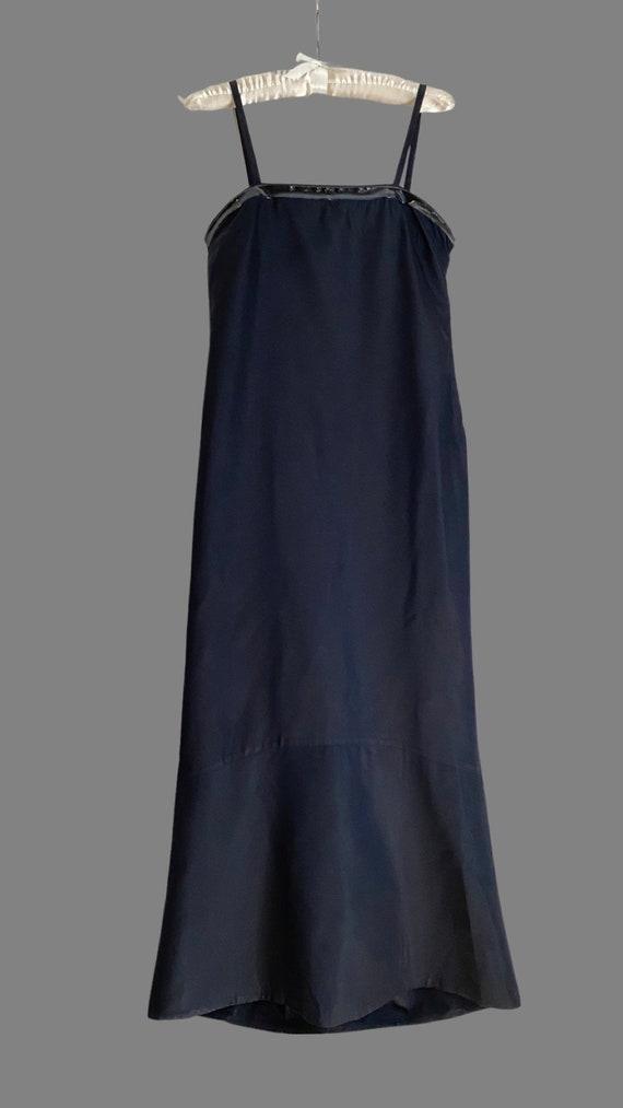 Vintage 1990s PRADA Silk & PVC Designer Mermaid D… - image 8