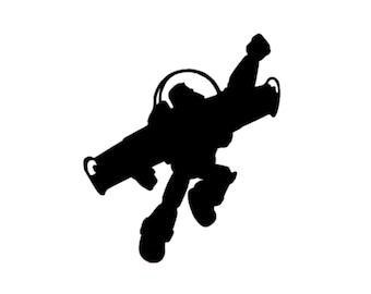Disney Buzz Lightyear Decal | Toy Story Decal | Disney Buzz Lightyear | Disney Buzz Decal | Disney Flying Buzz Lightyear Decal