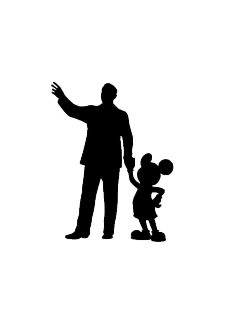 0cfead4692d Mickey and Walt Disney Decal Walt Disney Decal Walt Disney
