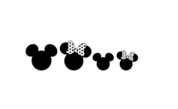 Death Star Mickey Head Car Decal