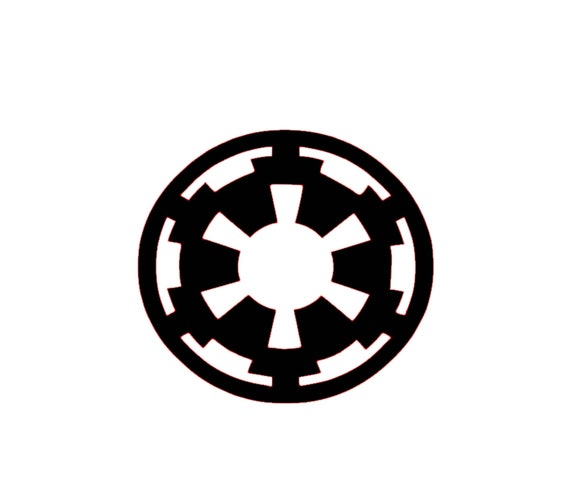 Galactic Empire Disney Magic Band Decal Disney Empire Symbol Etsy
