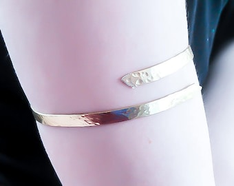 Upper Arm cuff - Gold Arm Cuff - Adjustable  arm Cuff - Upper Arm Bracelet - Upper Arm band - Gold Arm bracelet - Egyptian Bracelet