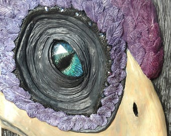 Mercy the Phoenix Art/ notebook/ journal/ sketchbook/ gift/ dreambook