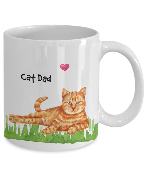 ANY MAN CAN BE A FATHER SOMEONE SPECIAL BE A GINGER CAT DADDY Fridge Magnet