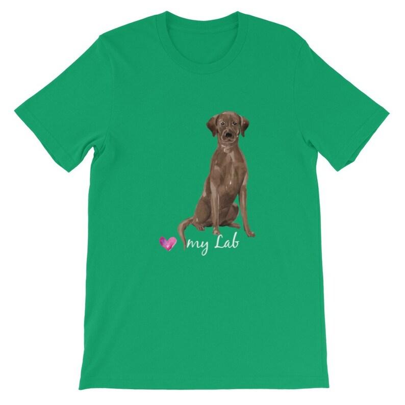 Labrador Retriever Premium Kids T-Shirt Chocolate Lab Love My Lab