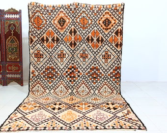 Moroccan Rug Beni Ourain Rug Boucherouite Rug By
