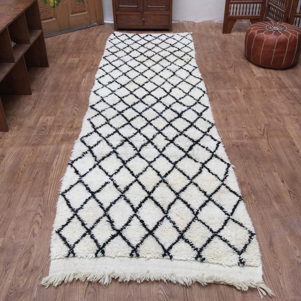 Moroccan Hallway Rug 3x9 Hallway Rug Floor Rug Runner Rug