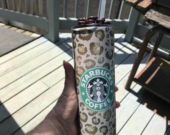 Personalized Starbucks Tumbler, Personalized 20oz cup, Personalized Coffee Cup, Custom Starbucks tumbler, 20oz. Stainless Steel tumbler,