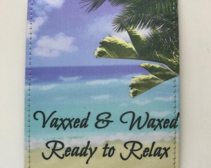 Custom made Vaccine Holder, Vaccine Card Holders, Fauci Ouchie Card Holder, Vax Card, Fauci ouchie, Covid Vaccine, Card Holder, Covid Cards