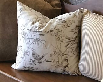 Avery Toile pillow cover