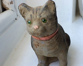 Late 19th C Cat Candy Container