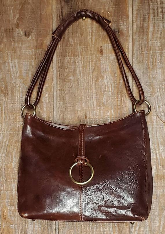 Vintage Italian Leather Tote