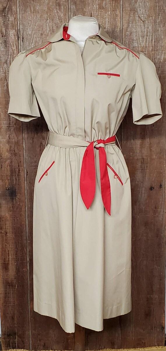 Vintage Uniform Dress