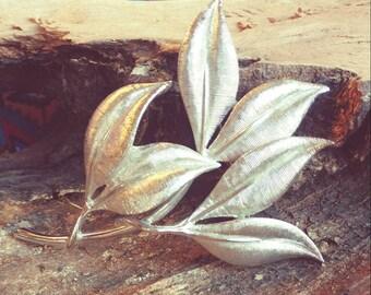 Emmons Leaf Pin brooch