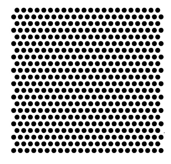 Cake Decorating and Craft Stencil Tiny Polka dots