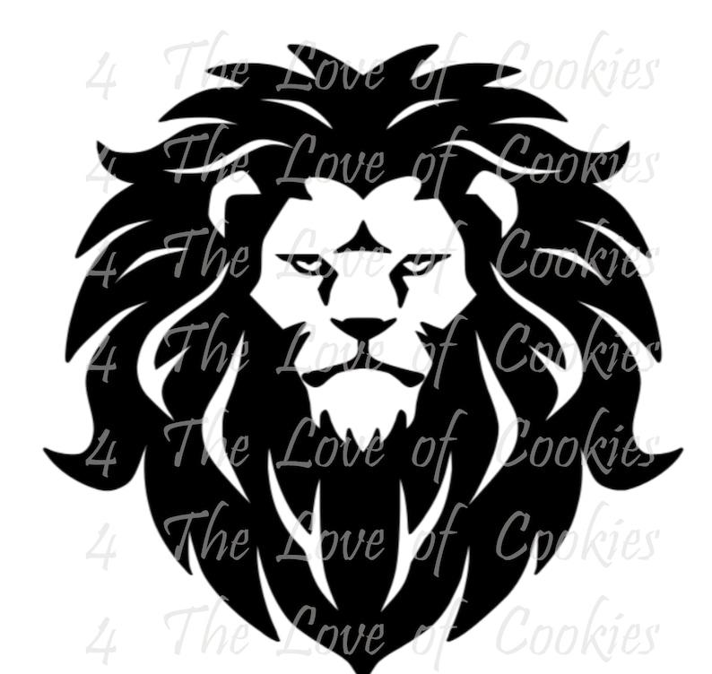 786578887 Lion silk screen stencil Sports mascot Silk Screen custom   Etsy