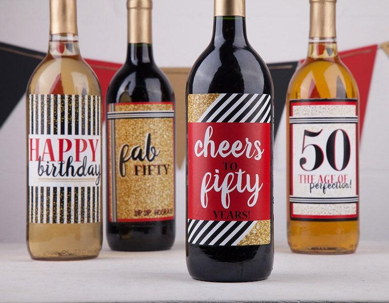 Birthday Gift Basket Cheers To 50