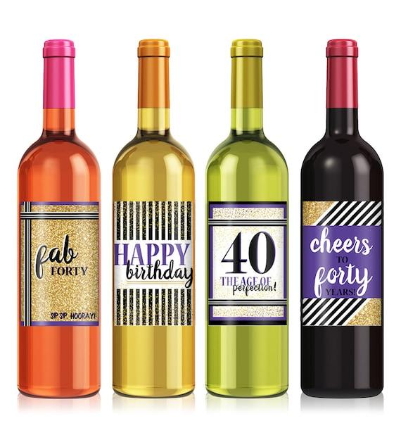 Birthday Gift Wine