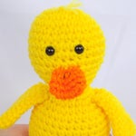 Crochet Duck Crochet Yellow Duck Yellow Duck Stuffed Animal Crochet Yellow Duck Stuffed Animal Crochet Plush Yellow Duck Toy Yellow Duck