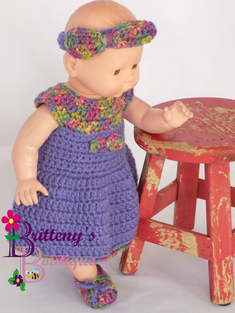 Baby Doll Clothes  Crochet Baby Doll Clothes  Crochet Baby image 0