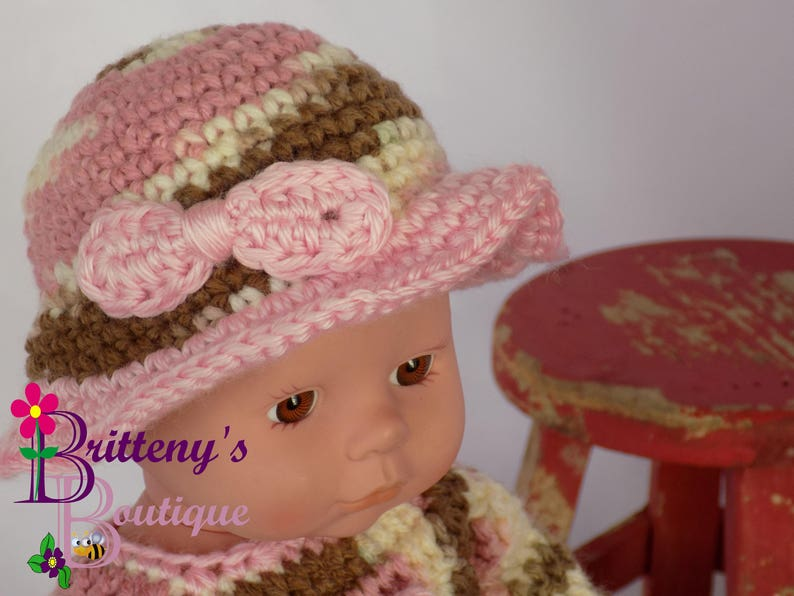 Baby Girl Doll Clothes Crochet Baby Doll Clothes Crochet Baby image 0