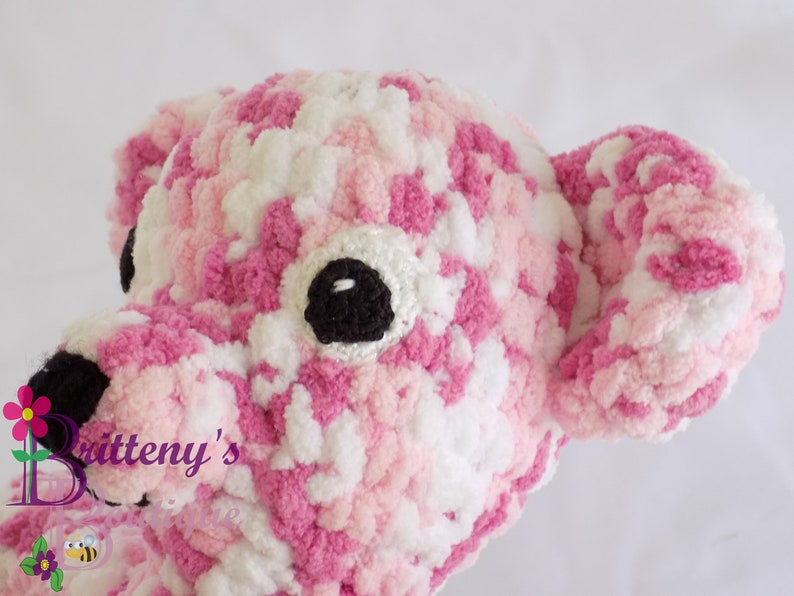 Teddy Bear  Baby Blue White and Taupe Teddy Bear  Baby Soft image 0