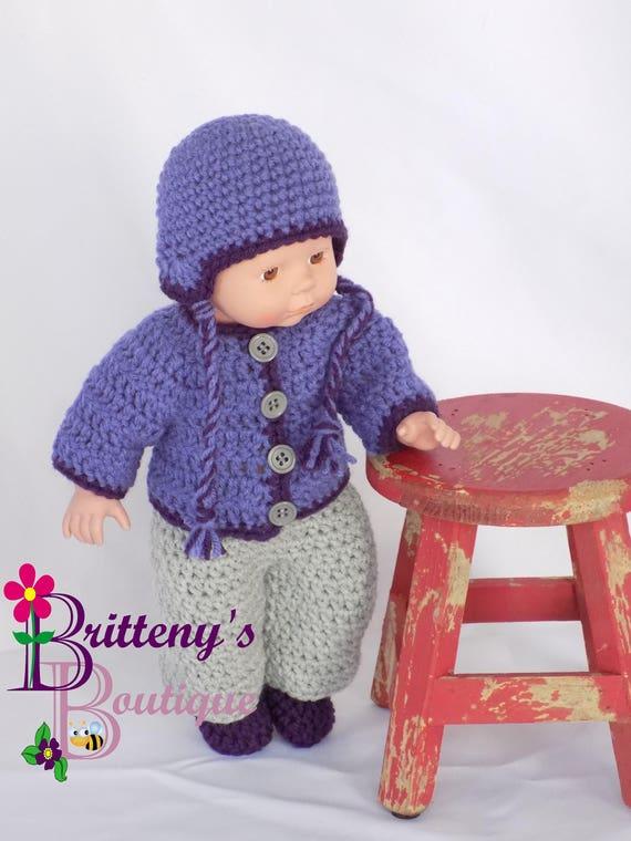 Baby Puppenkleidung Häkeln Baby Puppe Kleidung Häkeln Baby Etsy