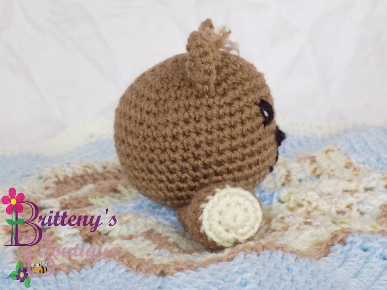 The Cuddliest Crochet Bear Lovey • Sewrella | 596x794