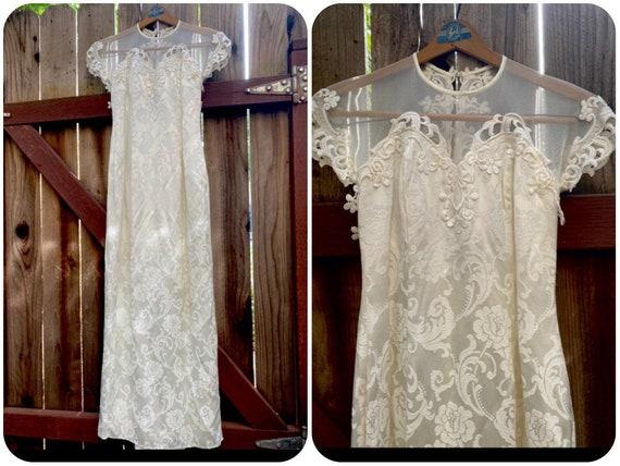 Vintage New Jessica McClintock Wedding Dress